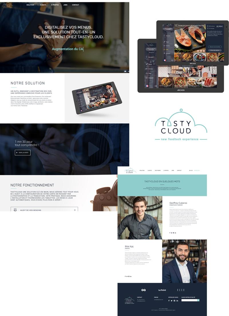 Tastycloud - site internet